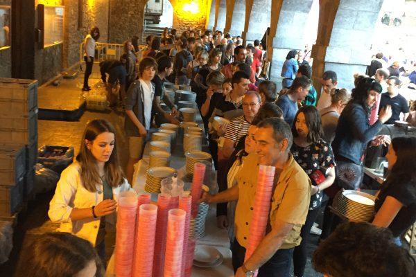 Fundación Varazdin innova en la gestión de vajillas reutilizables